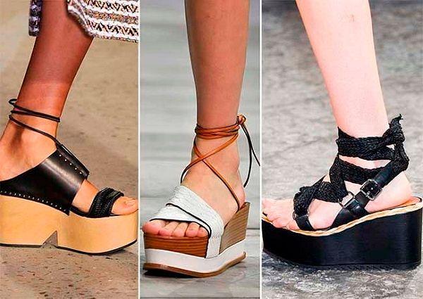 Летняя обувь: новая коллекция