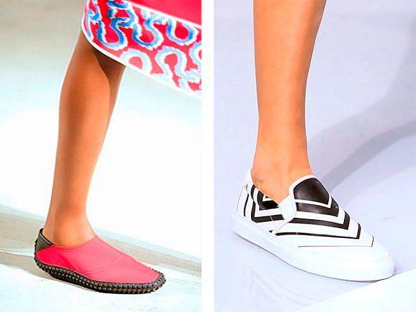 Летняя коллекция женской обуви