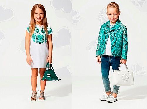Летние модели для девочек
