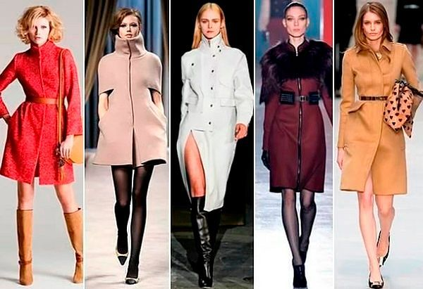 Женское пальто тренд 2017: фото