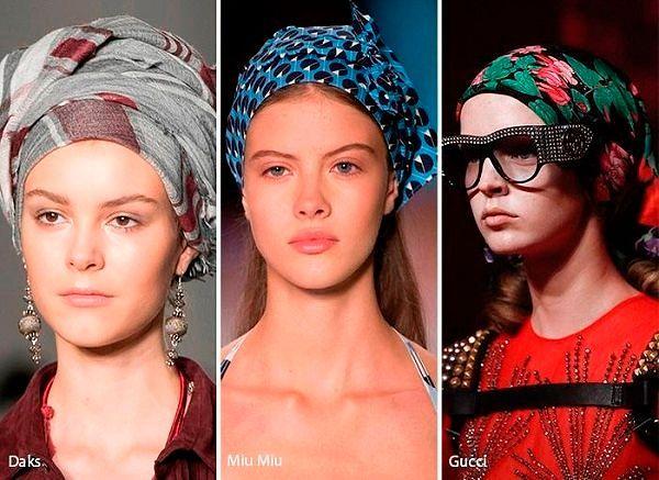 Модные шапки Весна 2017: фото женских моделей
