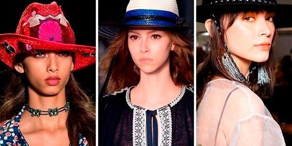 Женские шапки Весна 2017: фото