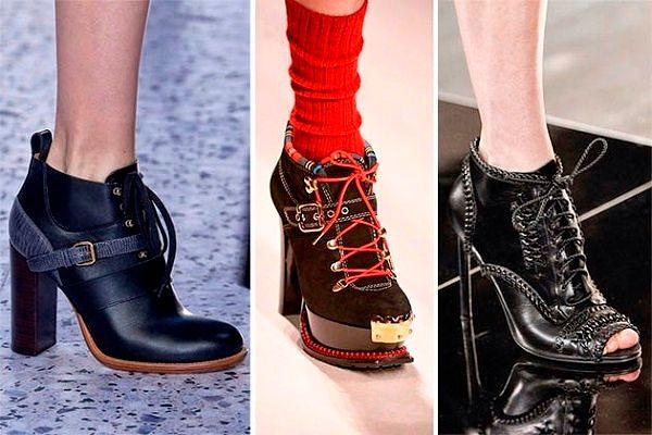 Тренды обуви Весна 2016: фото с показов мировых дизайнеров