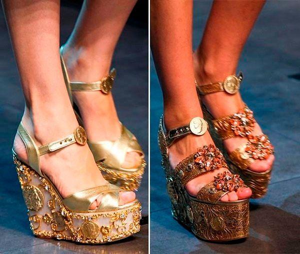 Модная обувь 2016 года: фото Весна/Лето