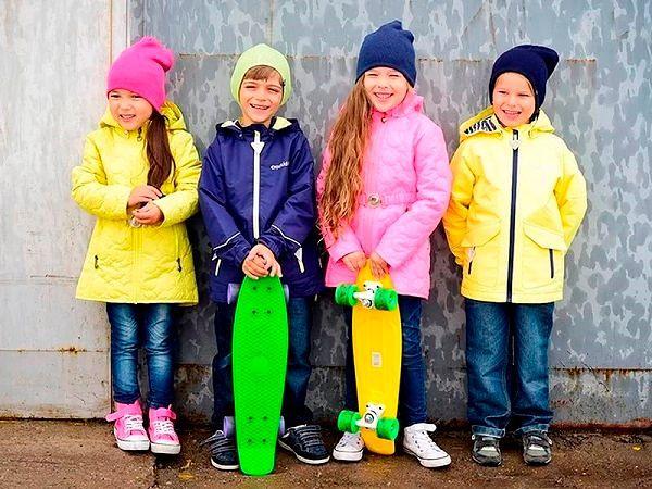 Детская одежда: куртки и комбинезоны Весна 2017