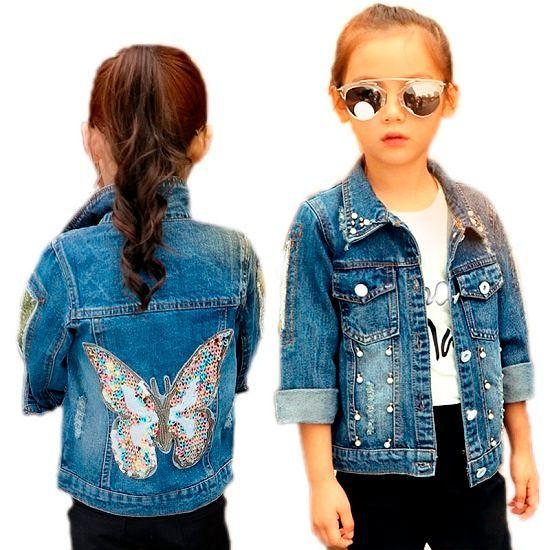 Летние модели модных детских курток
