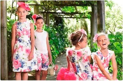 Детские аксессуары Весна/Лето 2017 года для девочек