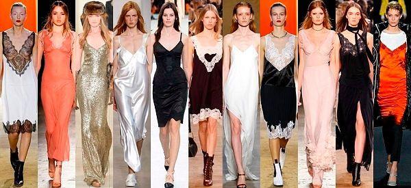 Модные тенденции Весна/Лето: фото лучших моделей платьев в бельевом стиле