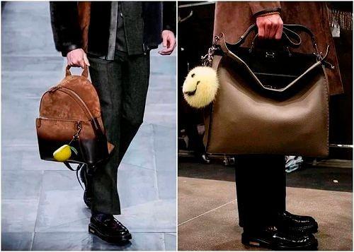 f601d532ff81 Тренды осенних и зимних мужских сумок 2017-2018: модные портфели ...