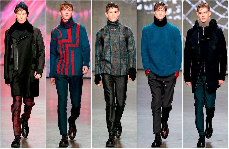 Стильная одежда для мужчин фото.