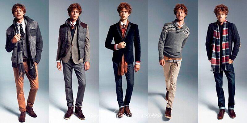 Модная мужская одежда.