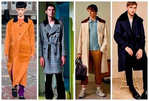 Трендовые модели верхней мужской одежды