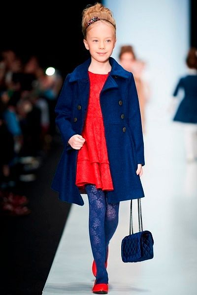 Модные модели для детей из весенних коллекций