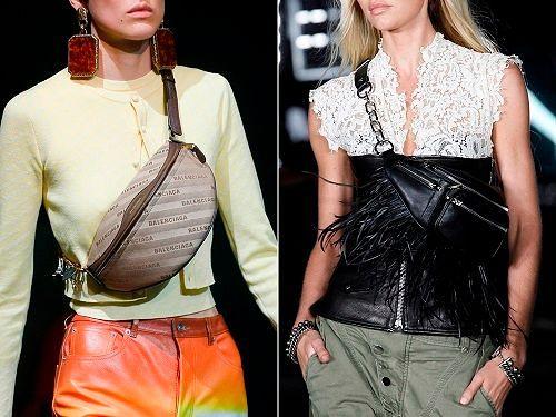 Женские модные сумки Весна 2018: фото