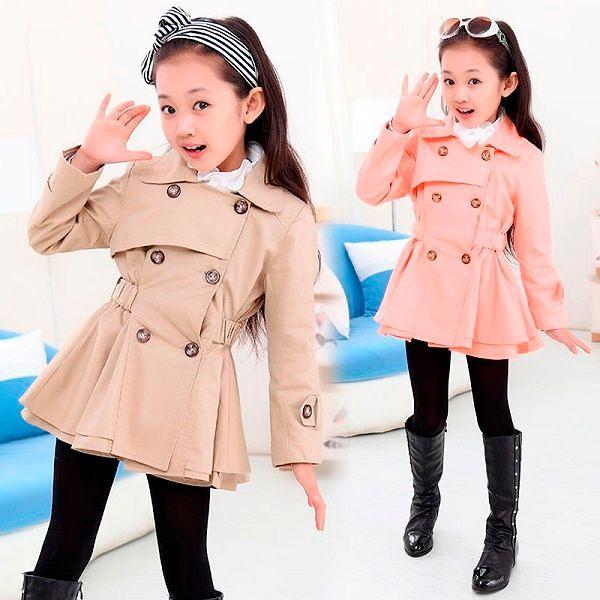 Детская верхняя одежда: фото моделей для девочек