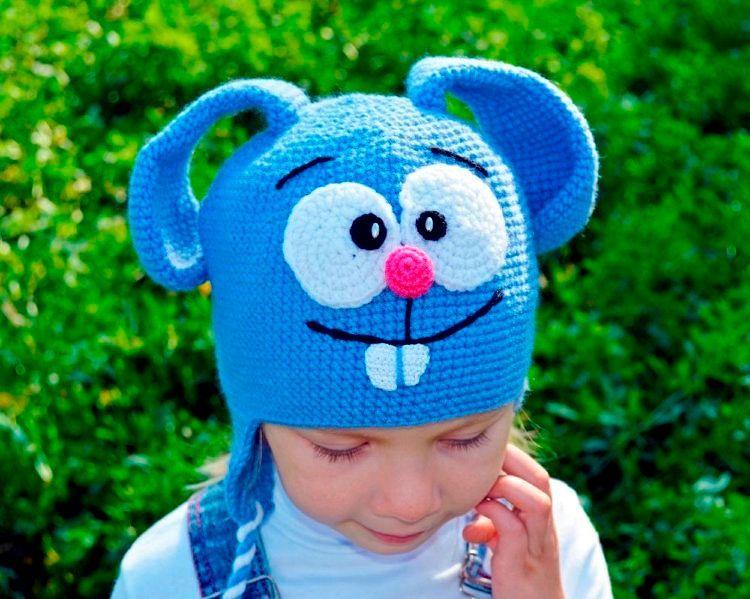 Модные детские шапки весна-лето фото