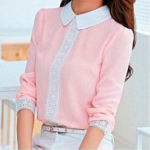 Модные блузки осень-зима 2018/2019, фото