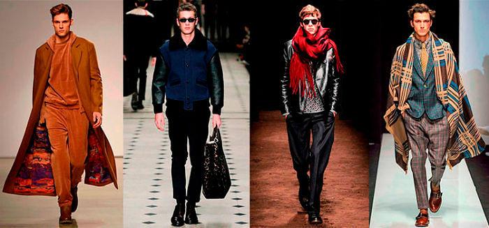 Стильная одежда для мужчин осень-зима 2018-2019, фото