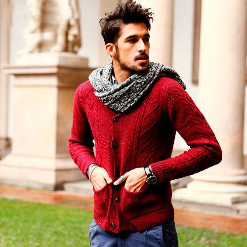 Стильные мужские свитеры 2018-2019, фото