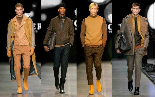 Стильные мужские брюки осень-зима 2018-2019, фото