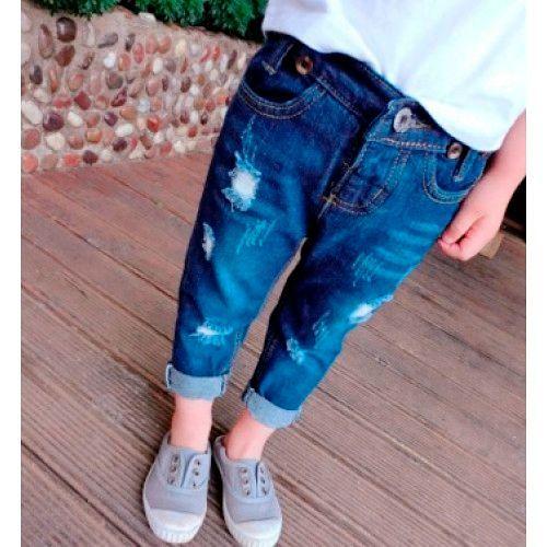 Стильные джинсы для мальчиков 2018-2019, фото