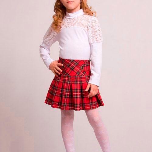 Модные юбки для девочек 2018-2019, фото
