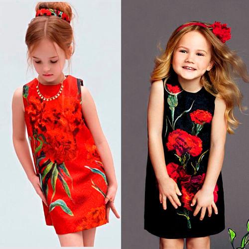 Модные платья для девочек 2018-2019, фото