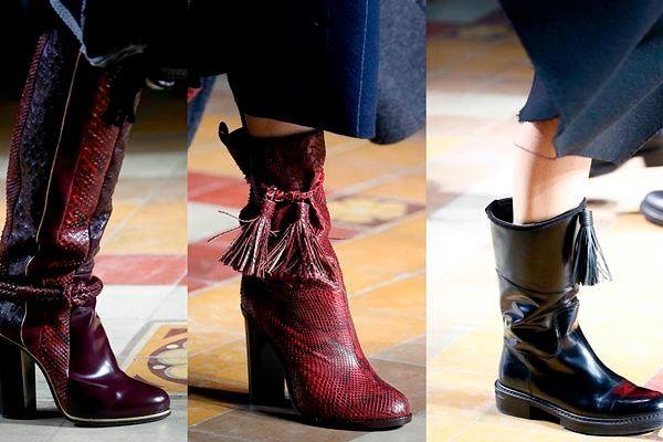 Модная женская обувь осень-зима 2018-2019, фото