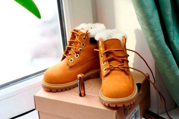 Модные детские ботинки осень-зима 2018-2019, фото