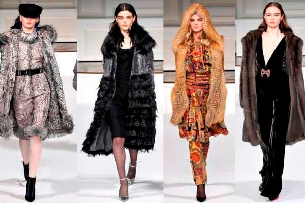 Модные женские шубы осень-зима 2018-2019, фото
