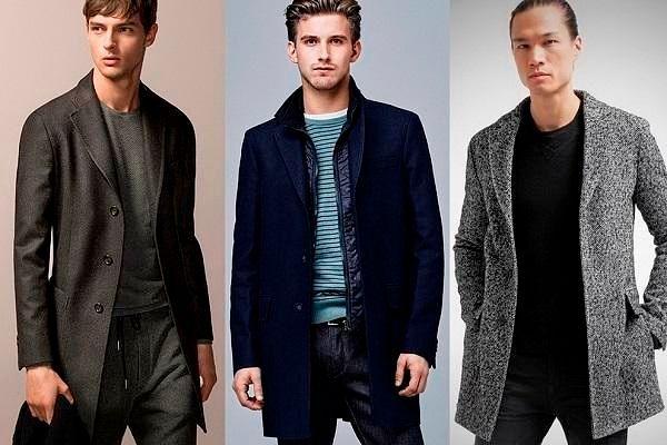Кэжуал - тенденция мужской верхней одежды осень-зима 2018-2019, фото