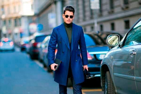 Модные мужские пальто осень-зима 2018-2019, фото