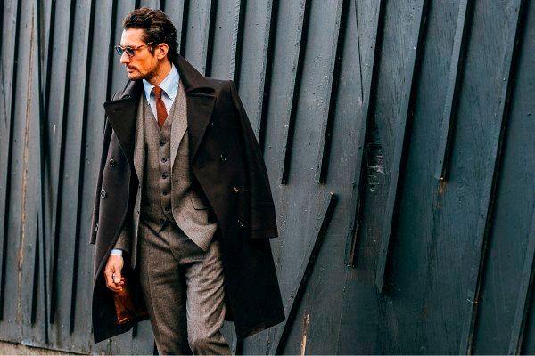 Стильные классические пальто для мужчин 2018-2019, фото