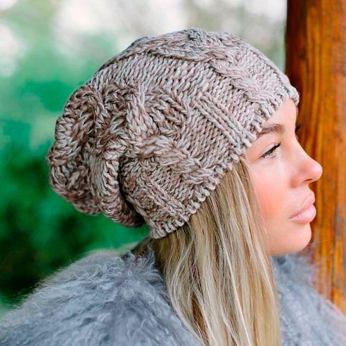 Модные женские головные уборы и шарфы осень-зима 2018-2019, фото