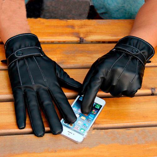 Модные мужские перчатки осень-зима 2018-2019, фото
