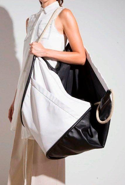 Модные сумки шопперы весна-лето.