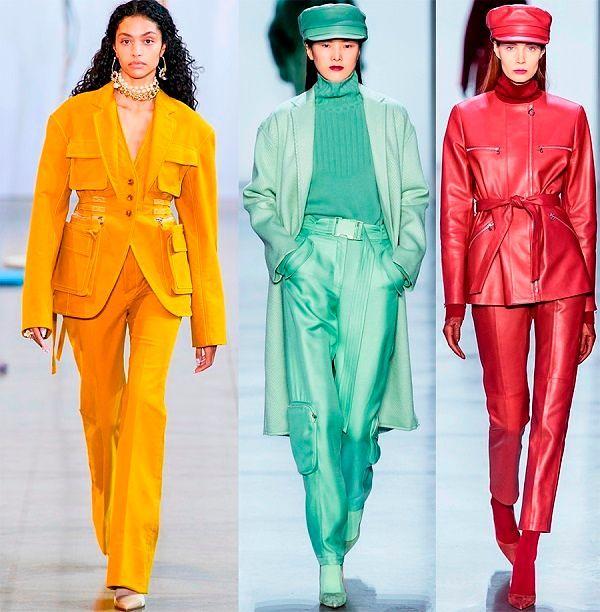 Женская одежда осень зима 2019 2020 фото.