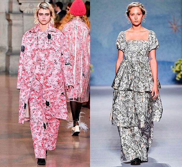 Модные тенденции осень зима 2019 женская одежда.