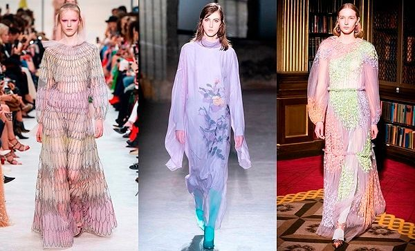 Женская одежда осень зима 2019 тенденции.