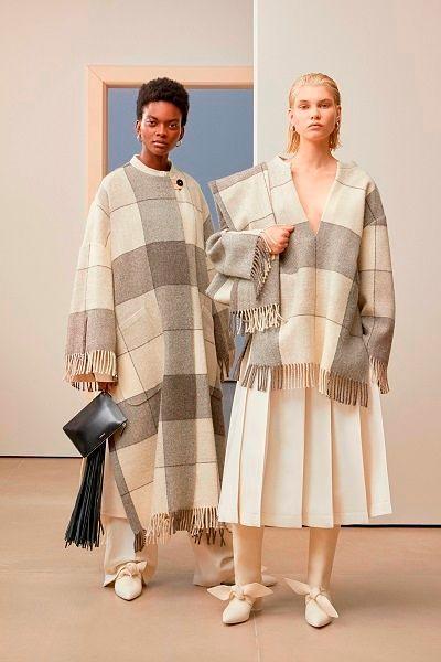 Женская одежда осень зима 2019 коллекции.