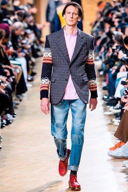 Мужская одежда осень зима 2019 тренды.
