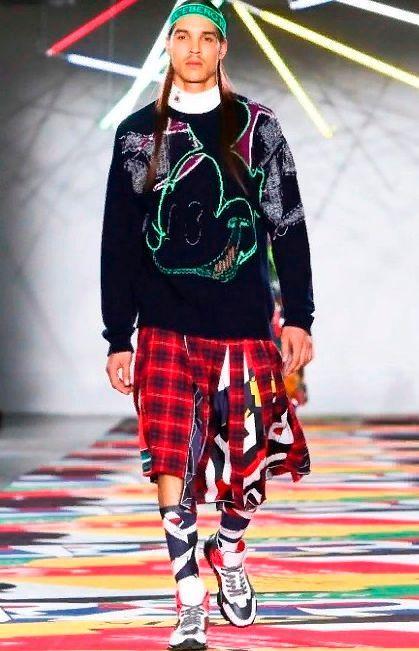 Зимняя мужская одежда луки.