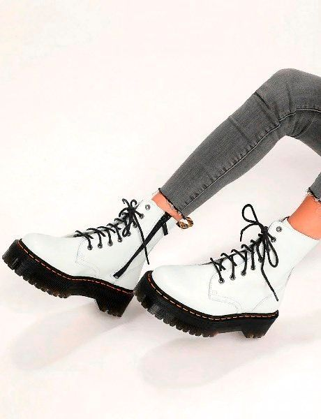 Зимняя женская обувь кожа.