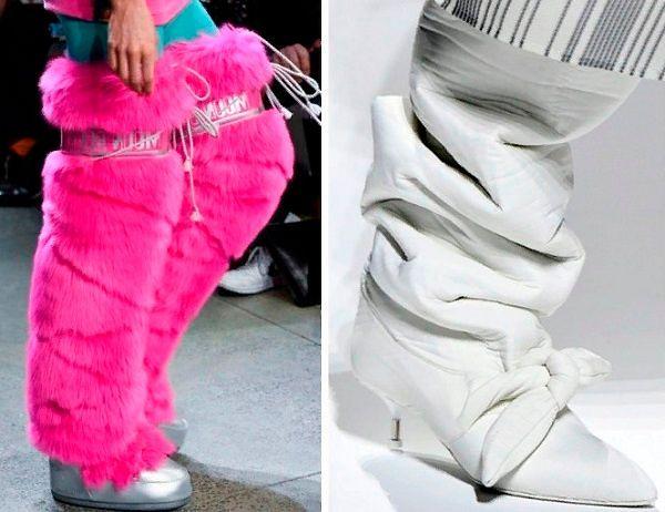 Зимняя обувь женская для сильных морозов.
