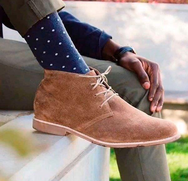 Зимняя обувь без меха мужская.
