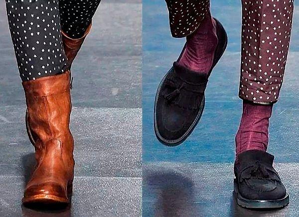 Лучшая мужская осенняя обувь.