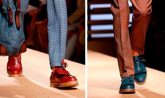 Осенняя мужская обувь: виды.