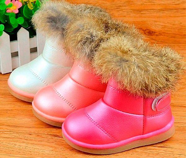 Фирменная зимняя детская обувь.