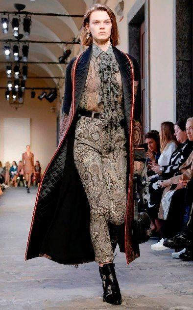 модная верхняя одежда женская зима 2019.
