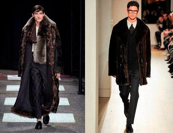 Модная верхняя одежда для мужчин зима.